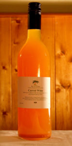 Carrot Wine produced by Rice and Things Jamaican Restaurant