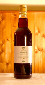 Sorrel Wine produced by Rice and Things Jamaican Restaurant